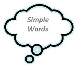 Use simple words for a dementia test