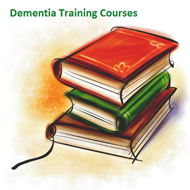 Dementia training courses. Learn at home courses in dementia care.